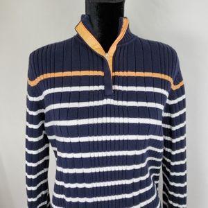 Karen Scott Sport 💙  Striped sweater. Size L